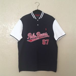 Ralph Lauren Polo Bears 67 Mesh Polo Shirt, Size M